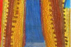 Dominik Blaha - Gothic window of the church of St. Michael Archangel