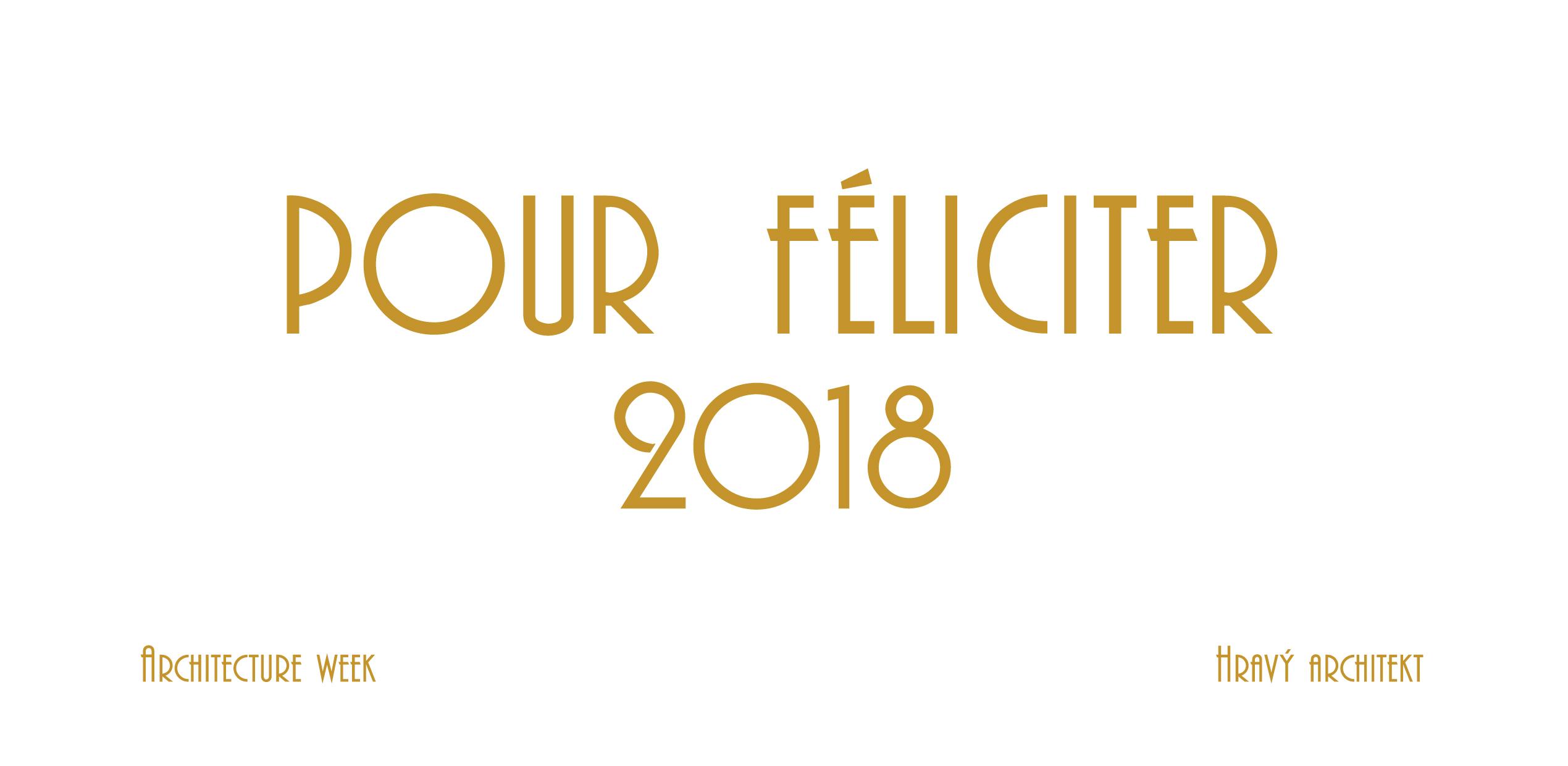 Pour Féliciter 2018