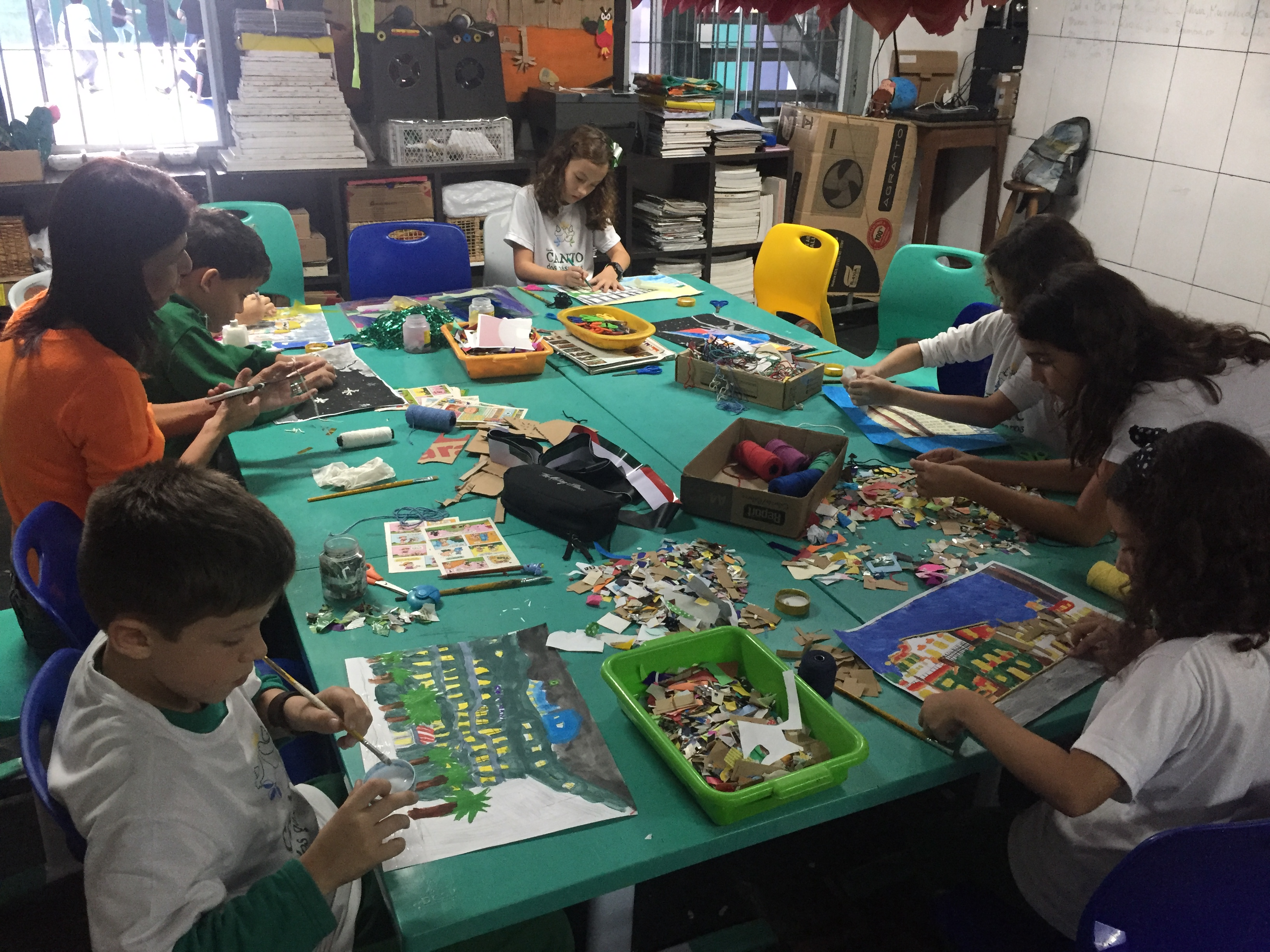 Brazílie - Escola Canto dos Pássaros