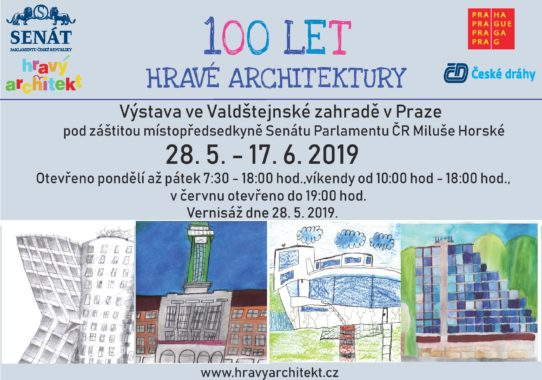 Výstava 100 let hravé architektury ve Valdštejnské zahradě v Praze od 28. 5. - 17. 6. 2019