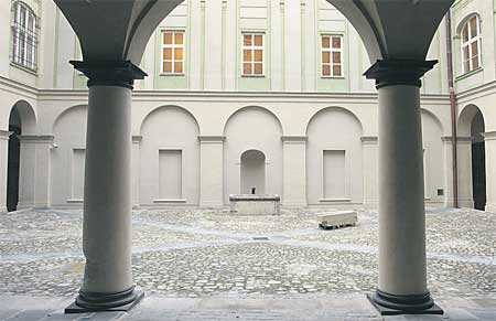 The exhibition My Archi Heritage in the Rosenberg Palace at Prague Castle